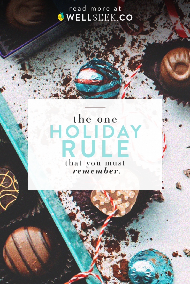 Don't let your food rules rule you.